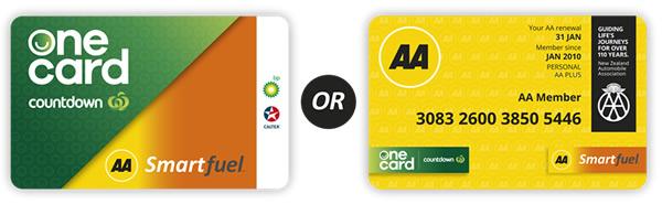 AA Smartfule card options