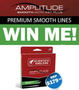 Win a Scientific Anglers Amplitude Infinity Smooth fly line