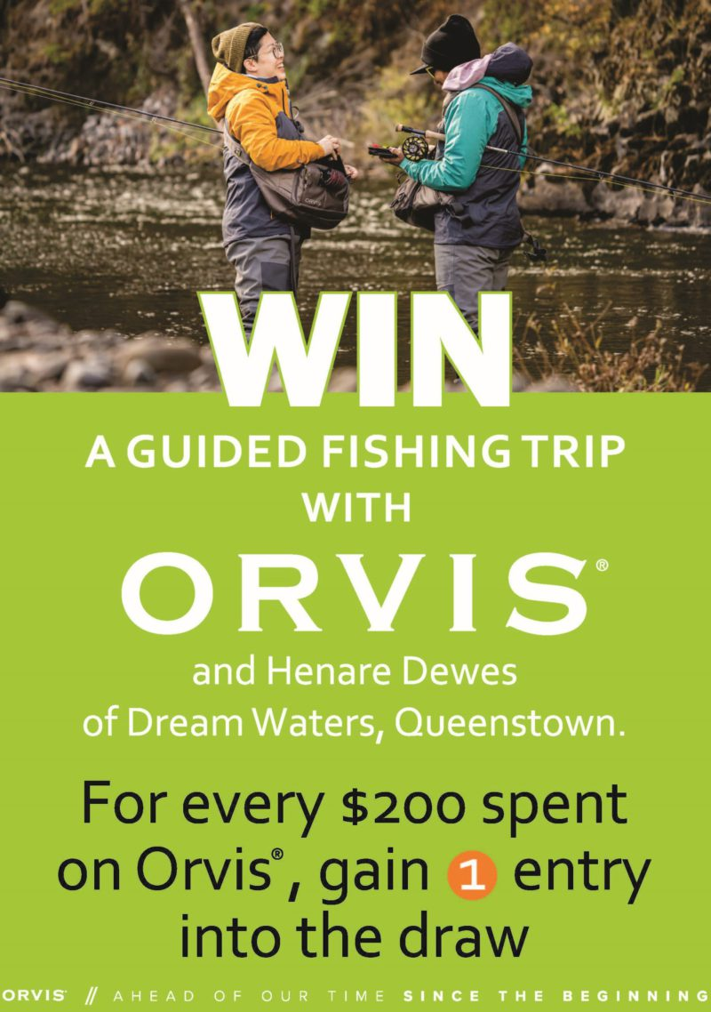 Win a guided fly fishing trip with Orvis in Queenstown