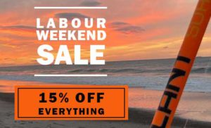 Labour Weekend Sale 15% off everything